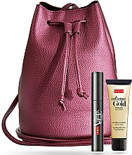 Parfumuri și produse cosmetice Set - Pupa (mascara/9ml + gel/25ml + bag)