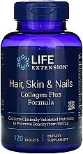 Parfumuri și produse cosmetice Vitamine cu colagen pentru păr, piele și unghii - Life Extension Hair Skin & Nails