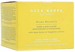 Parfumuri și produse cosmetice Cremă de corp - Acca Kappa Green Mandarin Body and Hand Butter