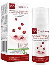 Parfumuri și produse cosmetice Mască de față purificatoare - GoCranberry Natural Nutrition Facial Mask