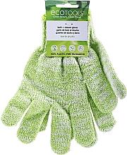 Parfumuri și produse cosmetice Mănuși de baie și duș, verde - EcoTools Recycled Bath & Shower Gloves Guantes