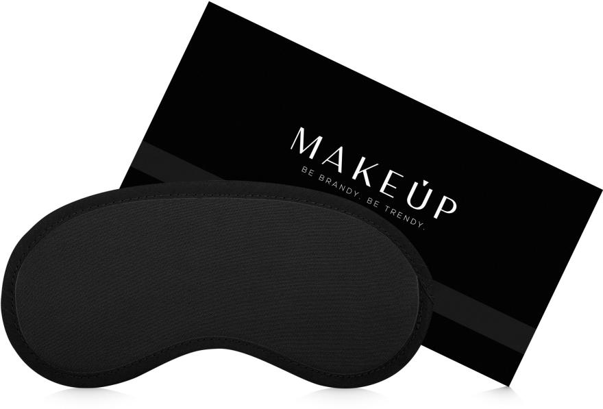 """Mască pentru somn, """"Classic"""", neagră - MakeUp"""