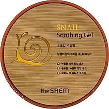 Parfumuri și produse cosmetice Gel calmant cu extract de melc - The Saem Snail Soothing Gel