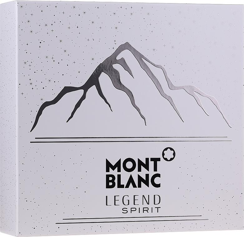 Montblanc Legend Spirit - Set (edt/100ml + ash/balm/100ml + sh/gel/100ml) — Imagine N1