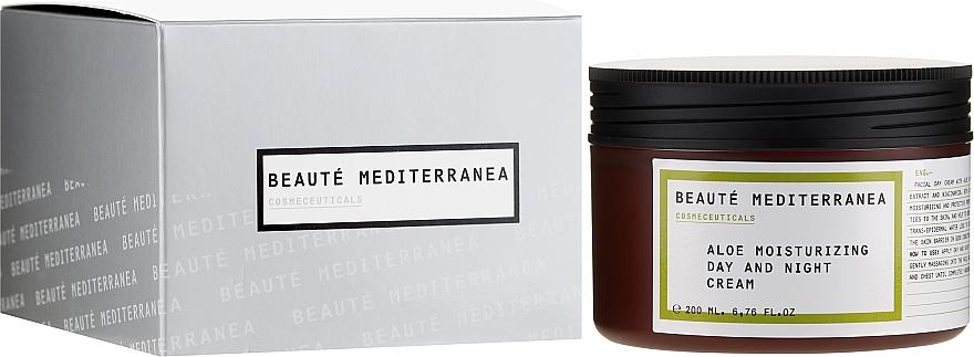 Cremă hidratantă cu aloe pentru față - Beaute Mediterranea Aloe Moisturizing Day And Night Cream — Imagine N1