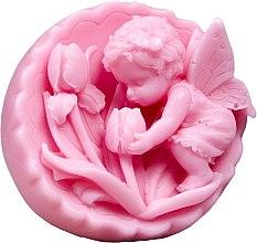 """Parfumuri și produse cosmetice Săpun natural """"Înger cu lalele"""", roz - LaQ Happy Soaps"""
