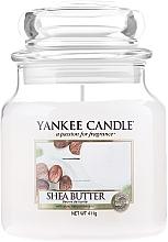 Parfumuri și produse cosmetice Lumânare aromată, în borcan - Yankee Candle Shea Butter