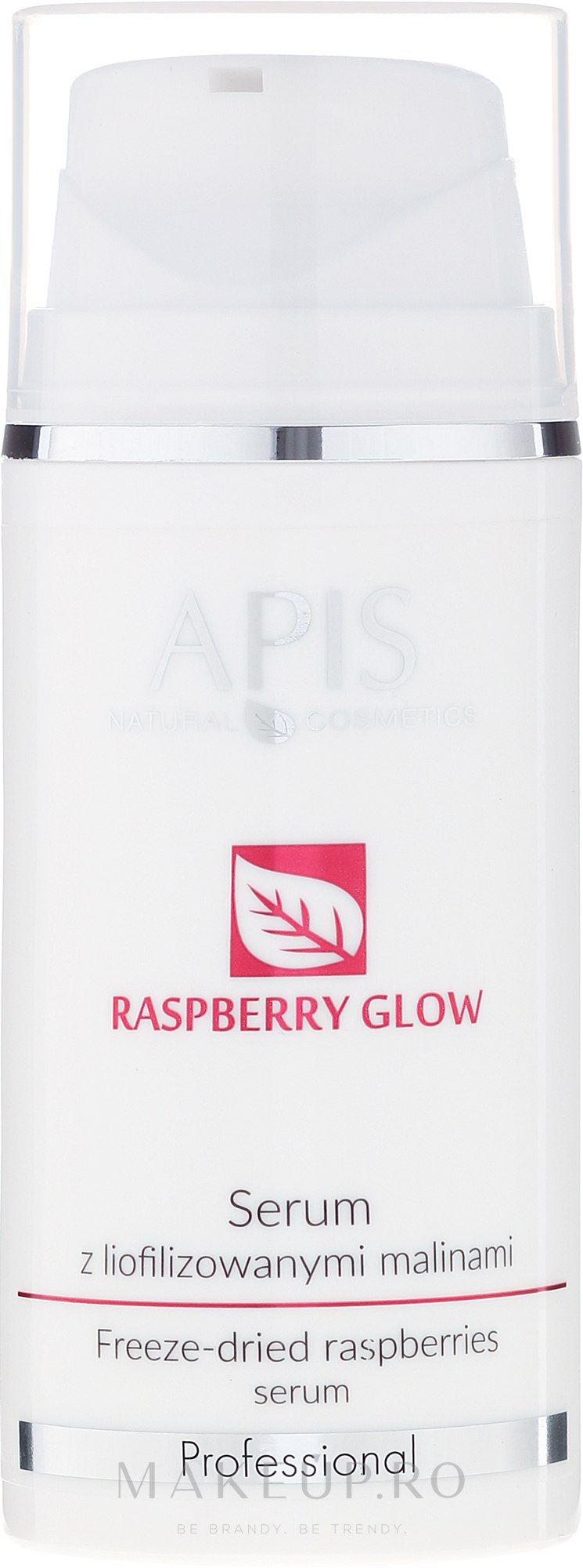 Ser de față cu zmeură uscată - APIS Professional Raspberry Glow — Imagine 100 ml