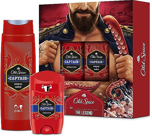 Set - Old Spice WhiteWater Fireman (deo/50g + sh/gel/250ml) — Imagine N1