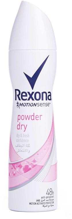 Spray anti-perspirant - Rexona MotionSense Powder Dry Antiperspirant