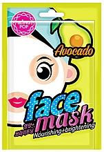 Parfumuri și produse cosmetice Mască cu extract de avocado pentru față - Bling Pop Avocado Nourishing & Brightening Mask