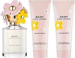 Marc Jacobs Daisy Eau So Fresh - Set (edt 75ml + b/lol 75ml + sh/g 75ml) — Imagine N2