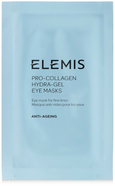 Patch-uri Lifting pentru zona ochilor - Elemis Pro-Collagen Hydra-Gel Eye Mask — Imagine N2
