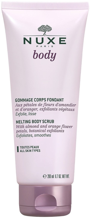 Scrub pentru corp - Nuxe Body Fondant Gentle Body Scrub — Imagine N1