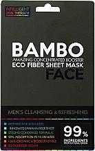 Parfumuri și produse cosmetice Mască revigorantă cu sare de mare și extract de bambus pentru față - Beauty Face Cleansing & Refreshing Compress Mask For Man