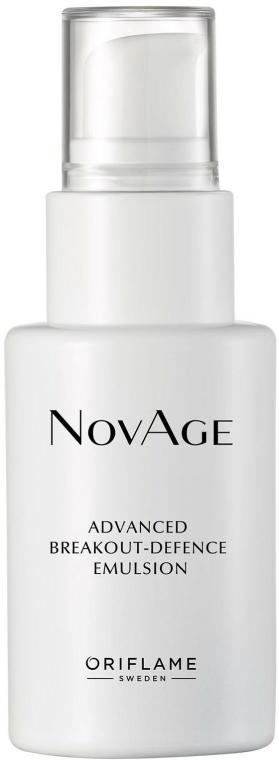 Emulsie împotriva inflamațiilor pentru față - NovAge Advanced Breakout-Defence — Imagine N1
