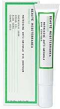 Parfumuri și produse cosmetice Cremă pentru pleoape - Beaute Mediterranea Matrikine Anti-Wrinkle Eye Contour