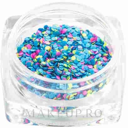 Confetti pentru design de unghii - La Boom Confetti (1 bucată) — Imagine Blue