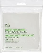 Parfumuri și produse cosmetice Șervețel de flanelă pentru spălare - The Body Shop Luxury Facial Flannel