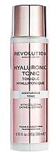 Parfumuri și produse cosmetice Tonic hidratant - Revolution Skincare Moisturising Tonic Hyaluronic Acid