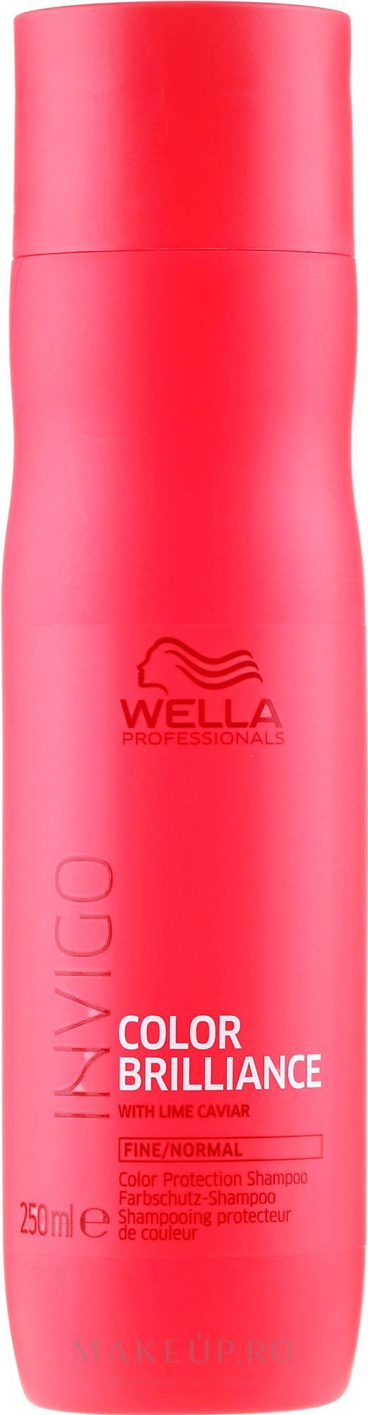 Șampon pentru păr vopsit, subțire și normal - Wella Professionals Invigo Brilliance Fine Hair Shampoo — Imagine 250 ml