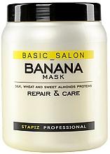 Parfumuri și produse cosmetice Mască pentru păr deteriorat - Stapiz Basic Salon Banana Mask