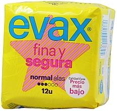 """Parfumuri și produse cosmetice Absorbante """"Normal"""", fără aripi, 12buc - Evax Fina & Segura"""