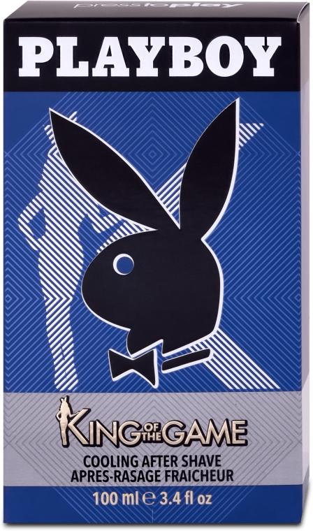 Playboy King Of The Game - Loțiune după ras — Imagine N1