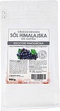 """Parfumuri și produse cosmetice Sare din Himalaya """"Struguri suculenti"""" - E-fiore Himalayan Salt Juicy Grapes"""