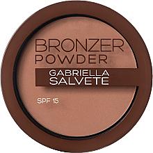 Parfumuri și produse cosmetice Pudră iluminatoare - Gabriella Salvete Bronzer Powder SPF15