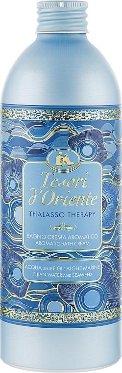 Gel-spumă de baie - Tesori d`Oriente Thalasso Therapy Aromatic Bath Cream