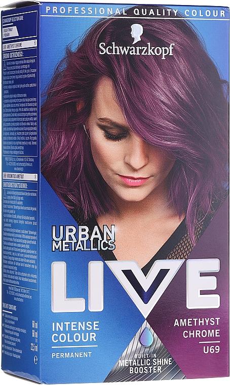 Vopsea de păr - Schwarzkopf Live Urban Metallics Intense Colour