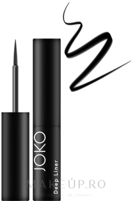 Eye Liner rezistent la apă - Joko Deep Liner — Imagine Black