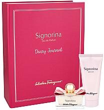 Parfumuri și produse cosmetice Salvatore Ferragamo Signorina - Set (edp/50ml + b/lot/100ml)