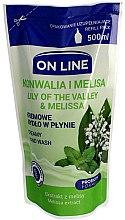 """Parfumuri și produse cosmetice Săpun lichid """"Lăcrămioară și Melisă""""- On Line Lilly of The Valley & Melissa Creamy Hand Wash (rezervă)"""