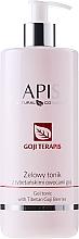 Parfumuri și produse cosmetice Tonic pentru față - APIS Professional Goji TerAPIS Professional Gel Tonic