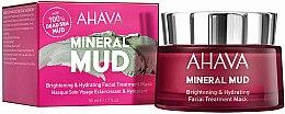 Parfumuri și produse cosmetice Mască de față - Ahava Mineral Mud Brightening & Hydrating Facial Treatment Mask