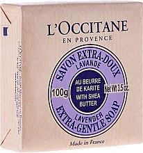 "Parfumuri și produse cosmetice Săpun ""Karite Lavender"" - L'occitane Shea Butter Extra Gentle Soap-Lavender"