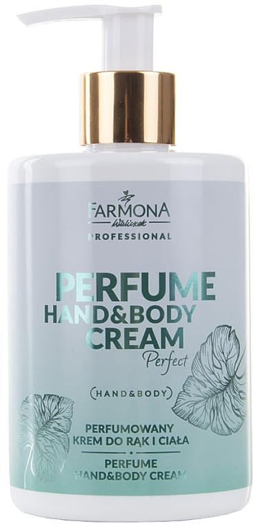 Cremă parfumată pentru mâini și corp - Farmona Professional Perfume Hand&Body Cream Perfect — Imagine N1