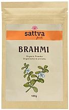 "Parfumuri și produse cosmetice Supliment alimentar ""Brahmi"", pulbere - Sattva Ayurveda Brahmi Powder"