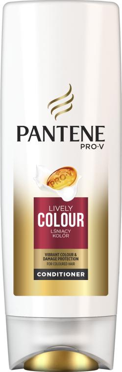 "Balsam de păr Condiționant ""Protecția culorii și strălucirii"" - Pantene Pro-V Lively Color Conditioner — Imagine N1"