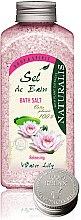 Parfumuri și produse cosmetice Sare de baie - Naturalis Sel de Bain Water Lily Bath Salt