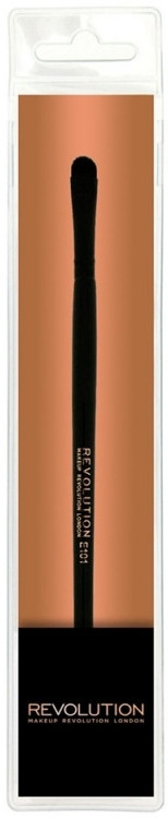 Pensulă de machiaj E101 - Makeup Revolution Eyeshadow Brush — Imagine N1
