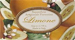 """Parfumuri și produse cosmetice Săpun de toaletă """"Lămâie"""" - Saponificio Artigianale Fiorentino Lemon"""