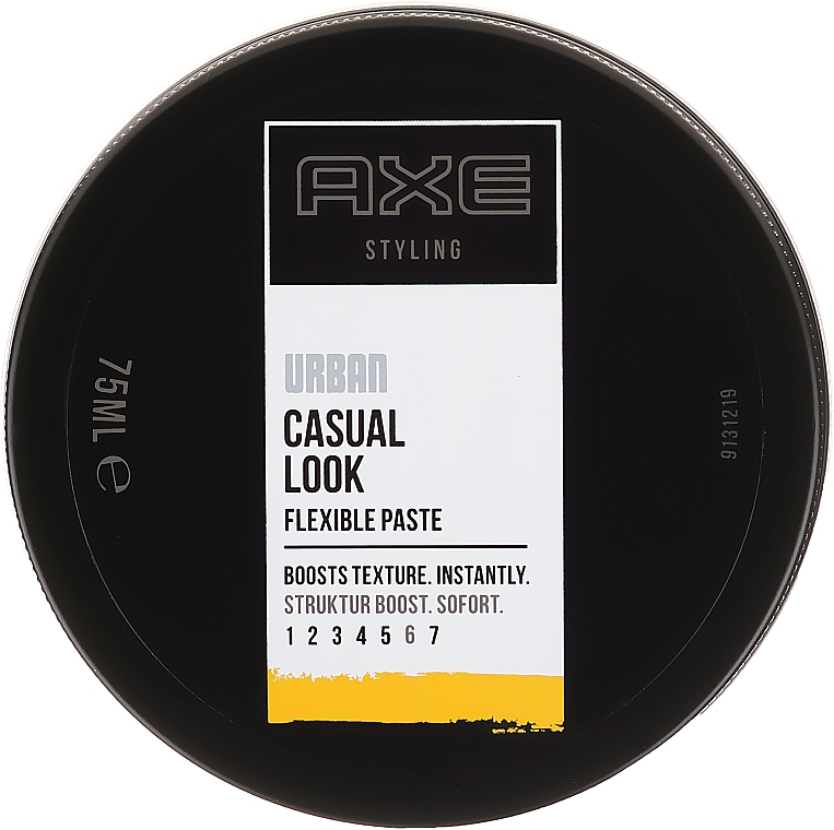 Pastă de păr - Axe Urban Casual Look Flexible Paste — Imagine N1