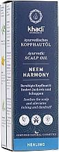 Parfumuri și produse cosmetice Ulei ayurvedic pentru scalp - Khadi Ayurvedic Scalp Oil Neem Harmony