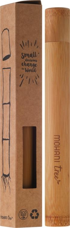 Carcasă din bambus pentru periuța de dinți - Mohani