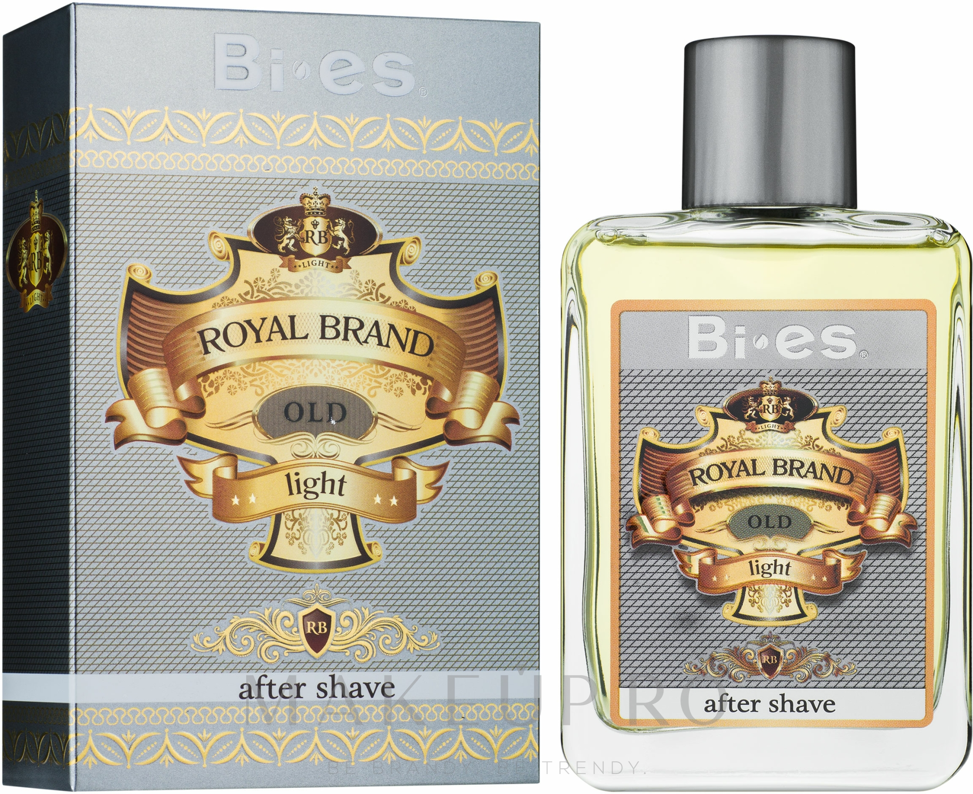 Bi-Es Royal Brand Light - Loțiune după ras — Imagine 100 ml