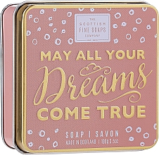 "Parfumuri și produse cosmetice Săpun ""May All Your Dreams"" - Scottish Fine Soaps May All Your Dreams Come True Soap In A Tin"