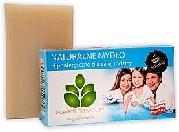 "Parfumuri și produse cosmetice Săpun natural ""Hipoalergenic"" - Powrot do Natury Natural Soap For All Family"